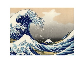 Frame hokusay
